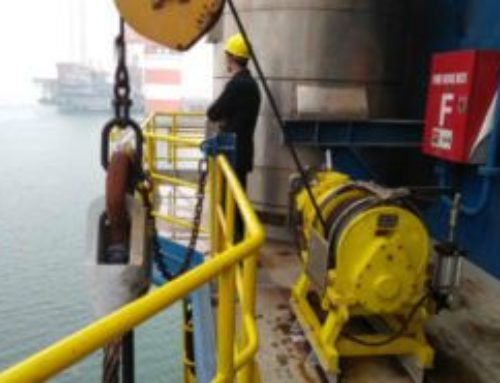 Air Driven Winches and Hoists For CIMC Shipbuilding and Offshore Platforms