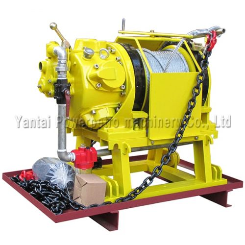 10T high capacity pneumatic winch