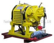 10ton heavy duty air powered winch