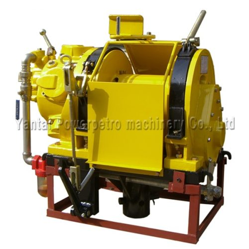 rotary base pneumatic winch